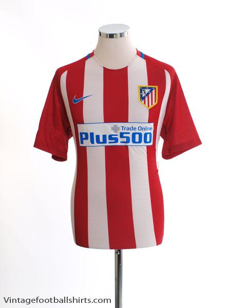 2016-17 Atletico Madrid Home Shirt *Mint* M