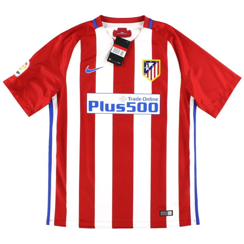 2016-17 Atletico Madrid Nike Home Shirt *w/tags* L - 808308-649
