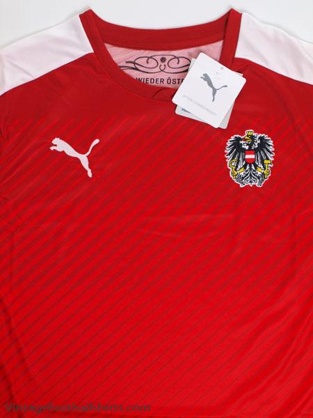 8622d5d40 2016-17 Austria Home Shirt  BNIB  for sale