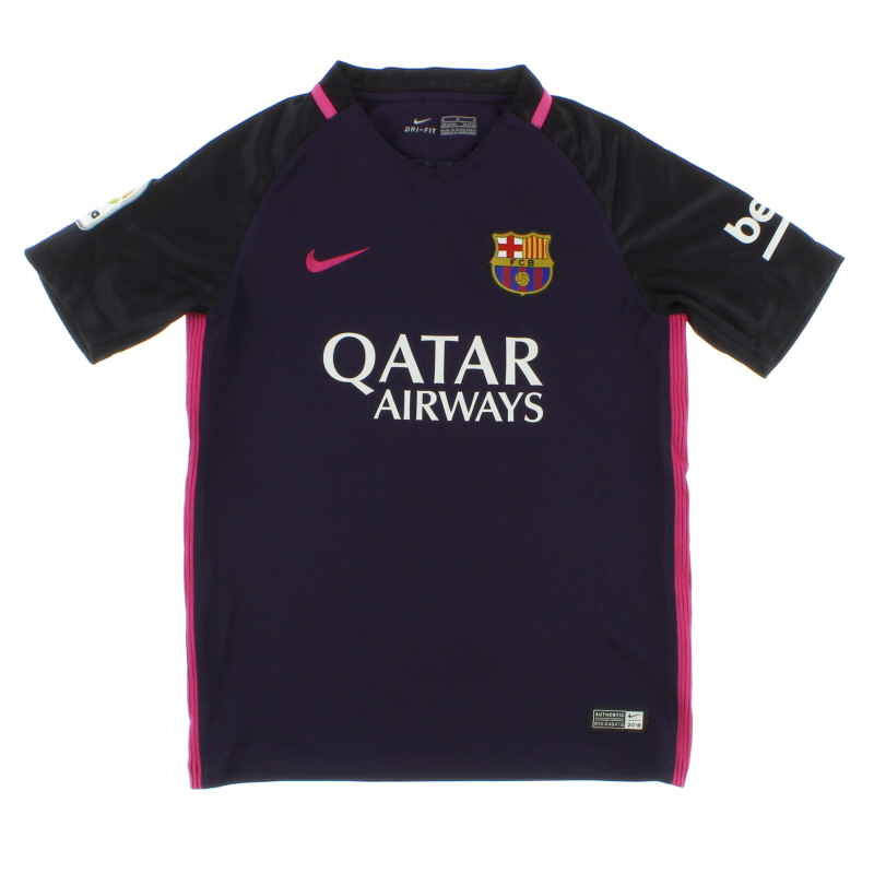 2016-17 Barcelona Away Shirt M.Boys - 777027-525