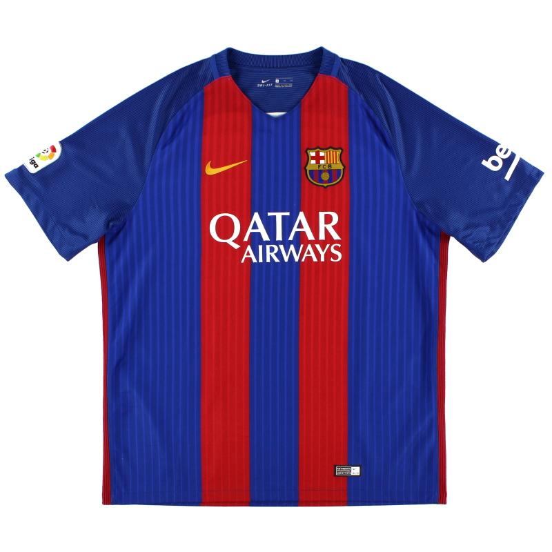 2016-17 Barcelona Home Shirt XL