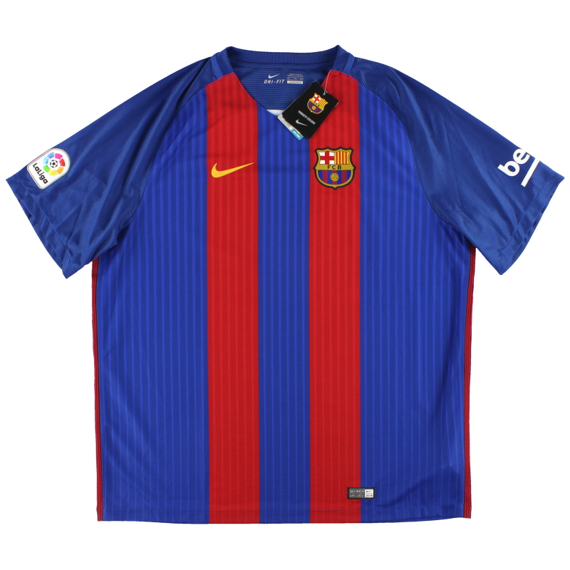 2016-17 Barcelona Nike Home Shirt *w/tags* XXL - 776850-481