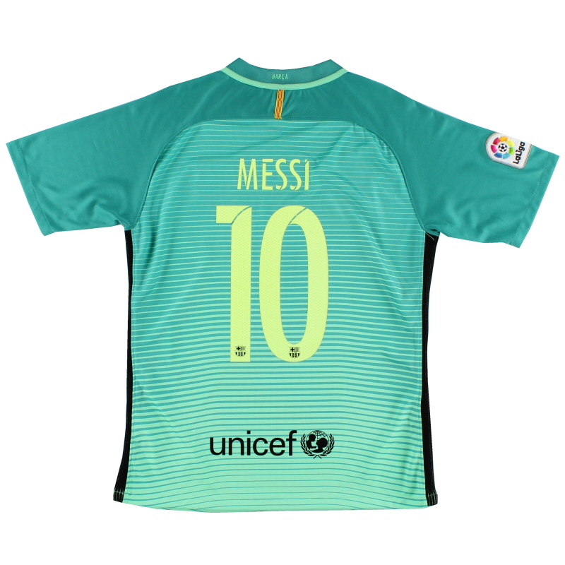 2016-17 Barcelona Third Shirt Messi #10 M - 518730-703