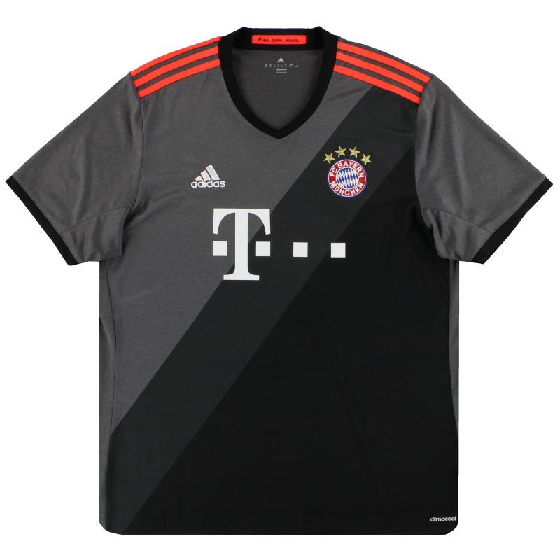 2016-17 Bayern Munich adidas Away Shirt XL