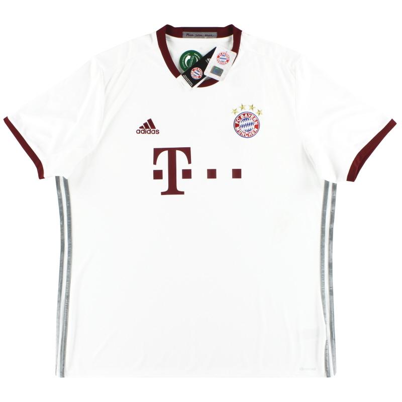 2016-17 Bayern Munich adidas Third Shirt *w/tags* XXL - AZ4663