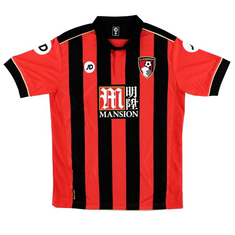 2016-17 Bournemouth Home Shirt M