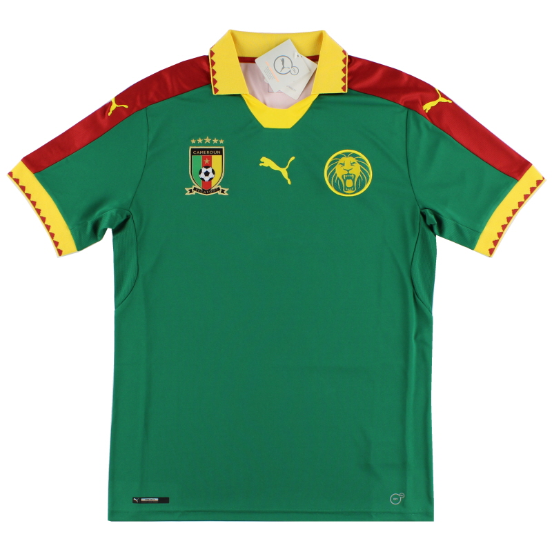2016-17 Cameroon Home Shirt *BNIB*  - 753567 01