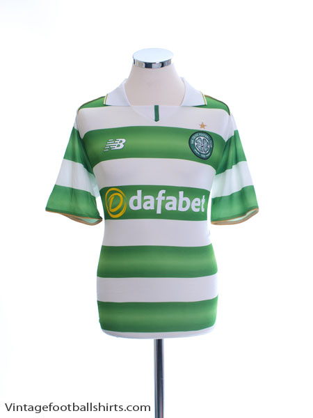 2016-17 Celtic Home Shirt M
