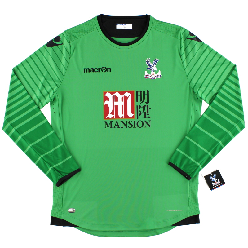 2016-17 Crystal Palace Macron Goalkeeper Shirt *w/tags*