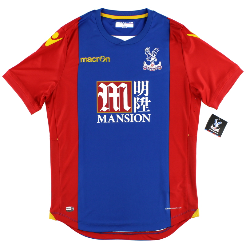 2016-17 Crystal Palace Macron Player Issue Body Fit Home Shirt *BNIB*
