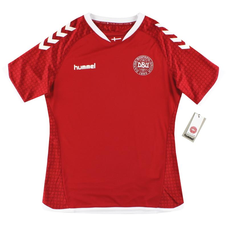 2016-17 Denmark Hummel Women's Home Shirt *BNIB* L