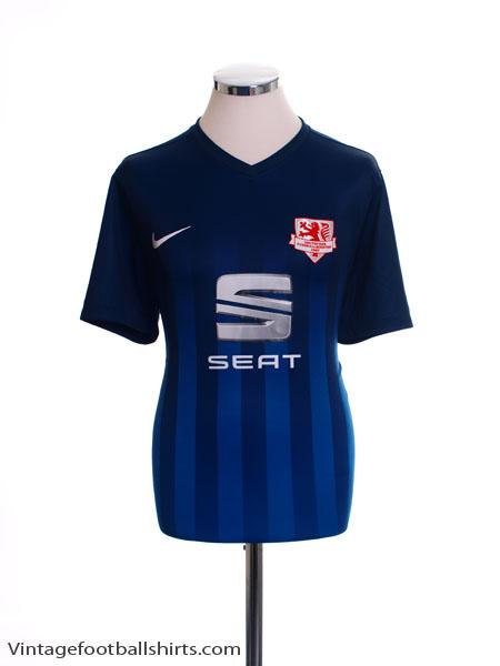 2016-17 Eintracht Braunschweig Away Shirt *Mint* L