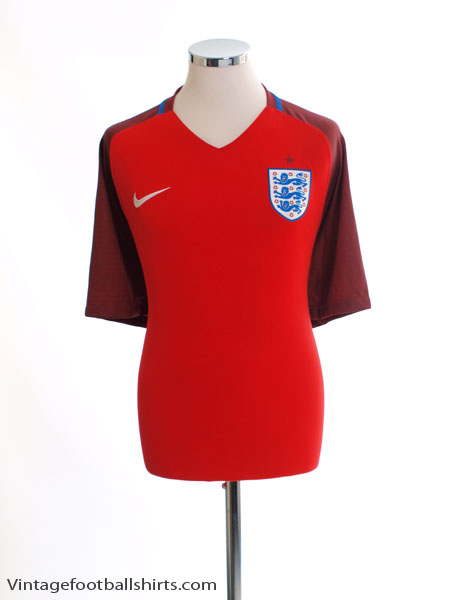 2016-17 England Away Shirt M - 724608-600