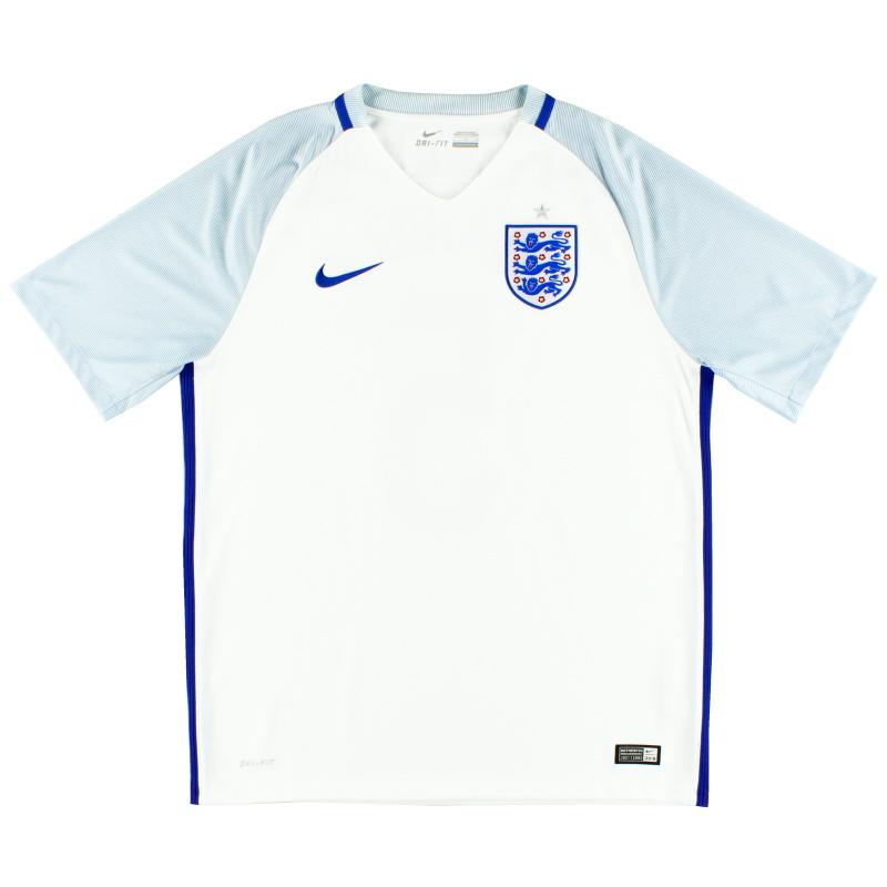 2016-17 England Home Shirt XL - 724610