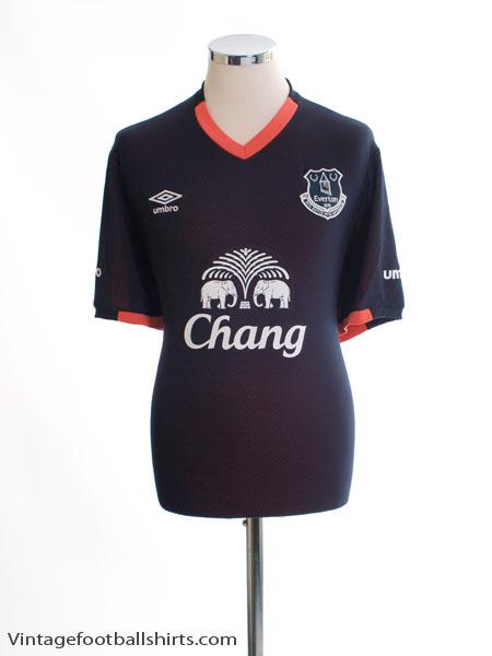2016-17 Everton Away Shirt *Mint* XL