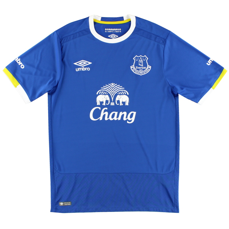2016-17 Everton Home Shirt *Mint* L
