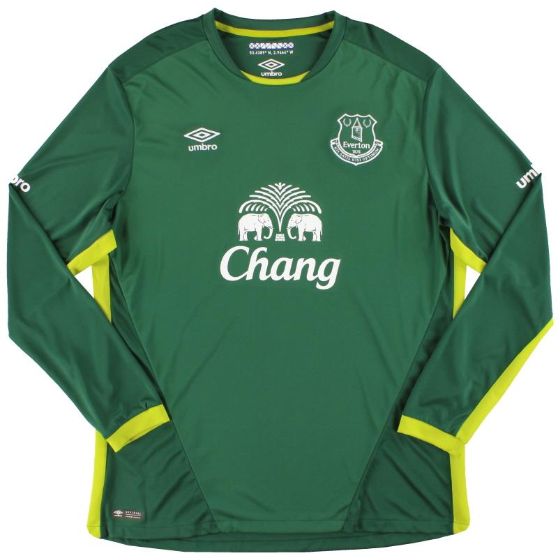 2016-17 Everton Umbro Goalkeeper Shirt XXL