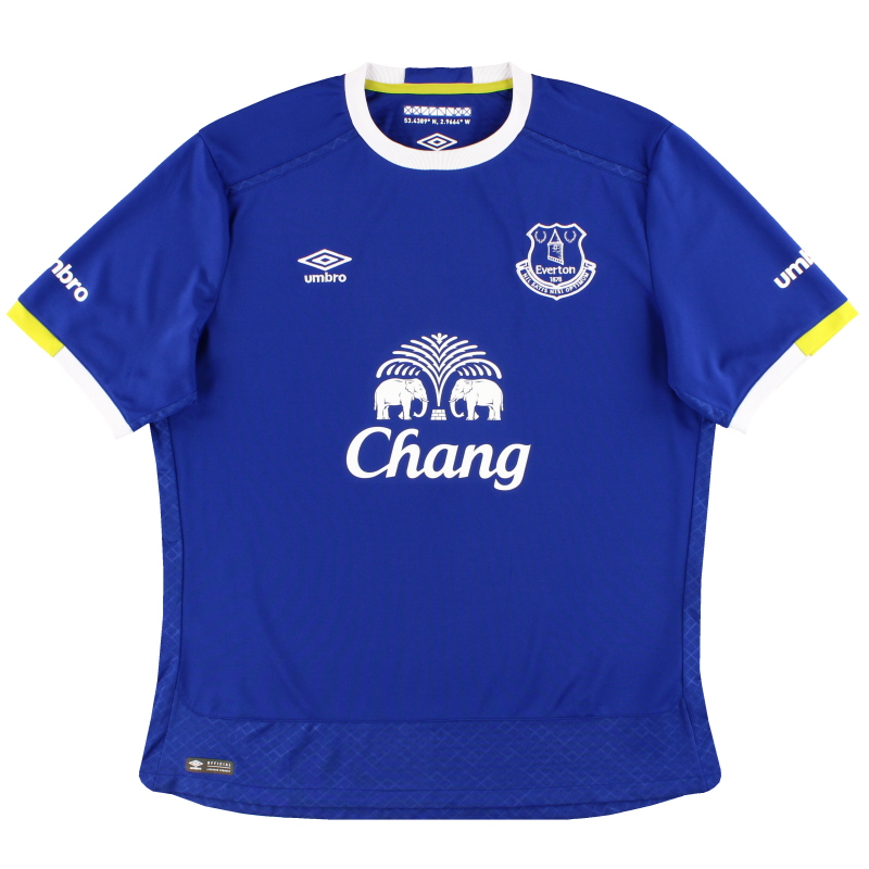 2016-17 Everton Umbro Home Shirt XL