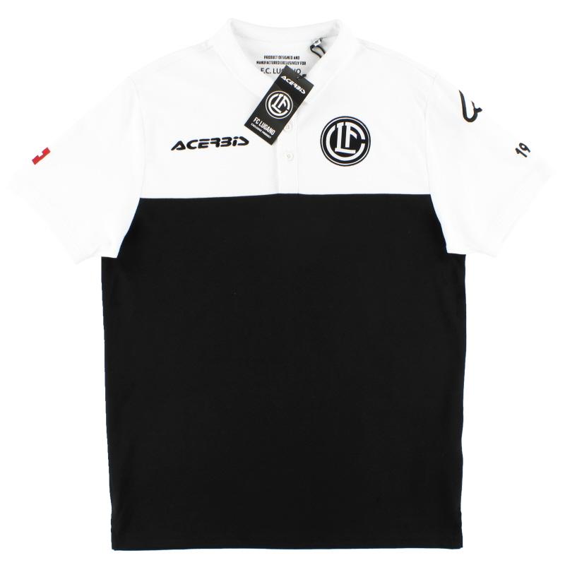 2018-19 FC Lugano Acerbis Polo Shirt *BNIB* - 0023284