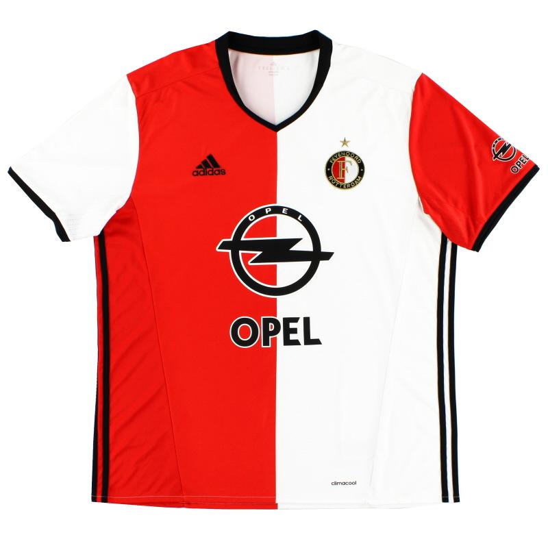 2016-17 Feyenoord Home Shirt XL - AP8057