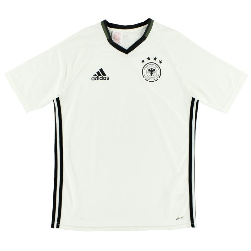 2016-17 Germany Adizero Training Shirt Y - AC6550