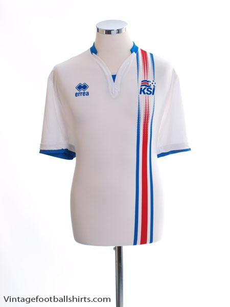 2016-17 Iceland Away Shirt *Mint* XXL