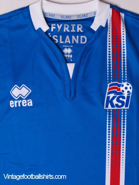 2016-17 Iceland Home Shirt  BNIB  for sale c210a3adc
