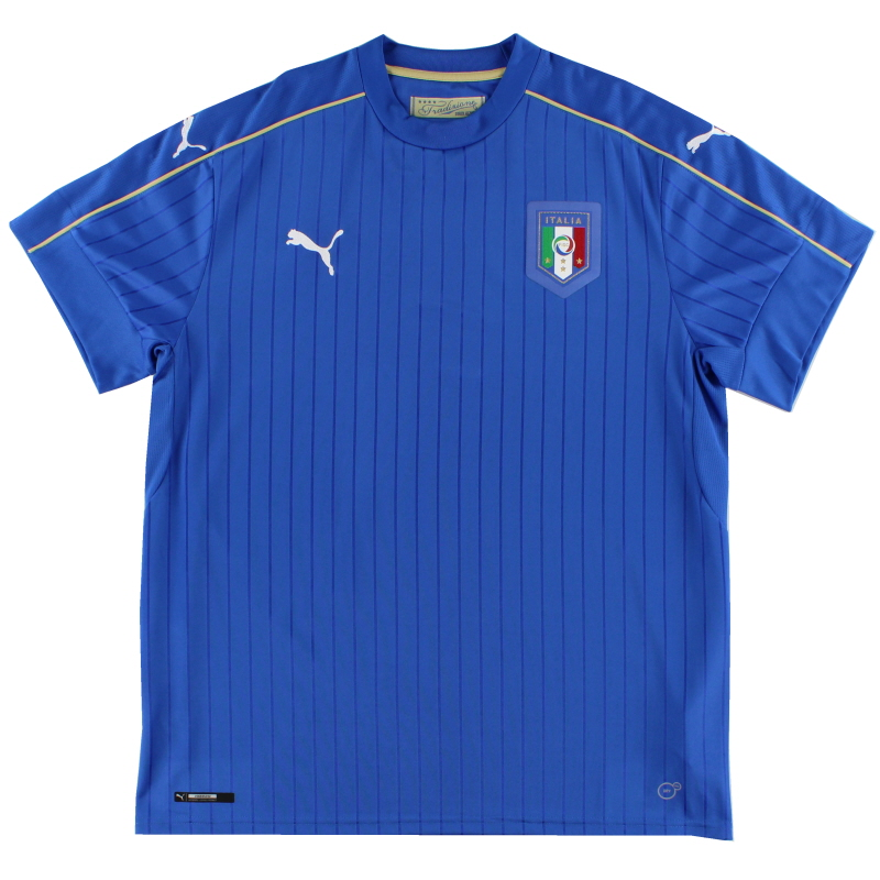 2016-17 Italy Puma Home Shirt *Mint* XL - 748933