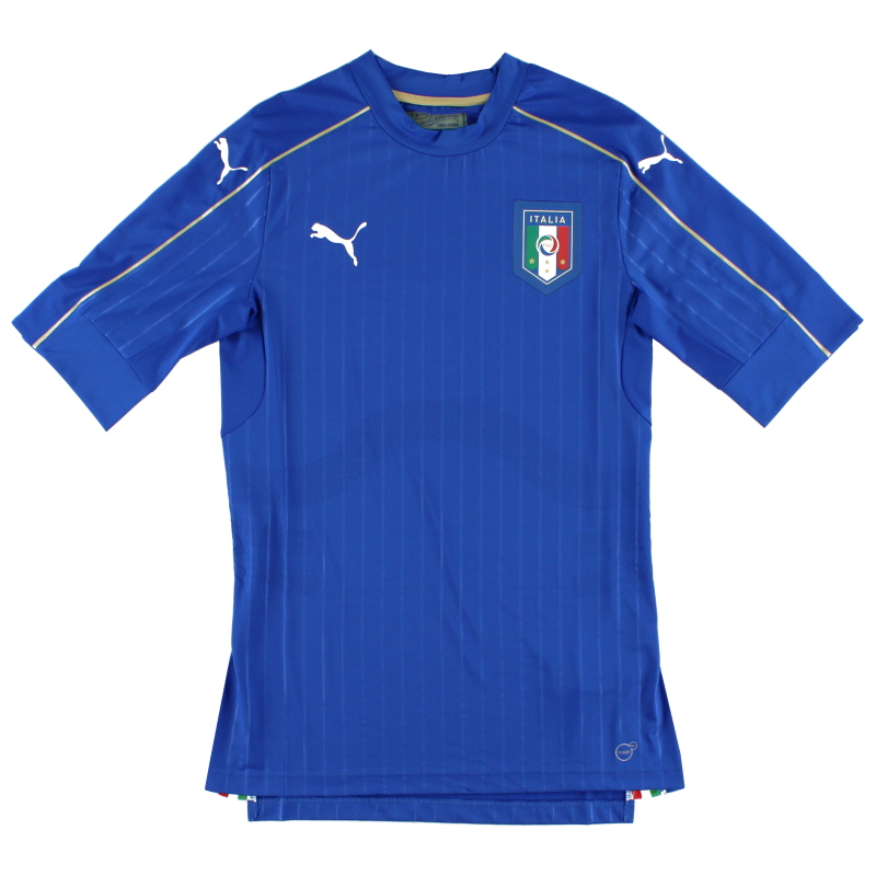 2016-17 Italy Player Issue Authentic Home Shirt *As New* L - 748809