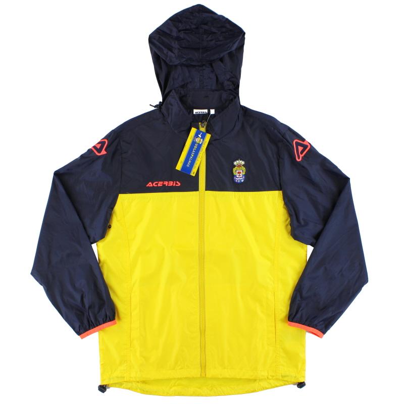 2016-17 Las Palmas Acerbis Full Zip Rain Jacket *BNIB* XXS - 0022005