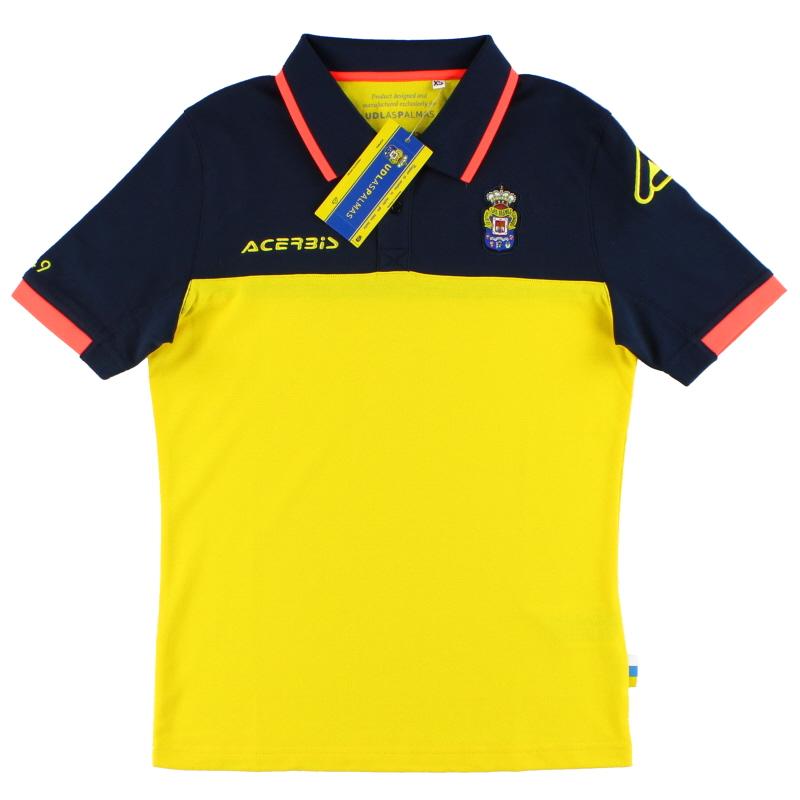 2016-17 Las Palmas Acerbis Polo Shirt *BNIB* 2XS - 0022010