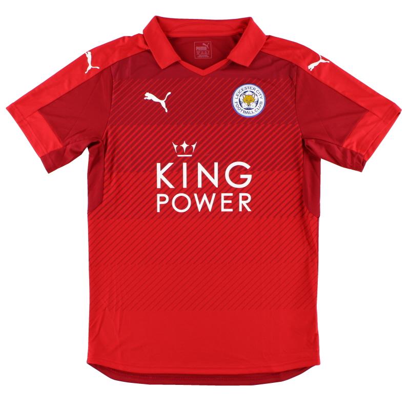 2016-17 Leicester Puma Away Shirt S - K1814009M