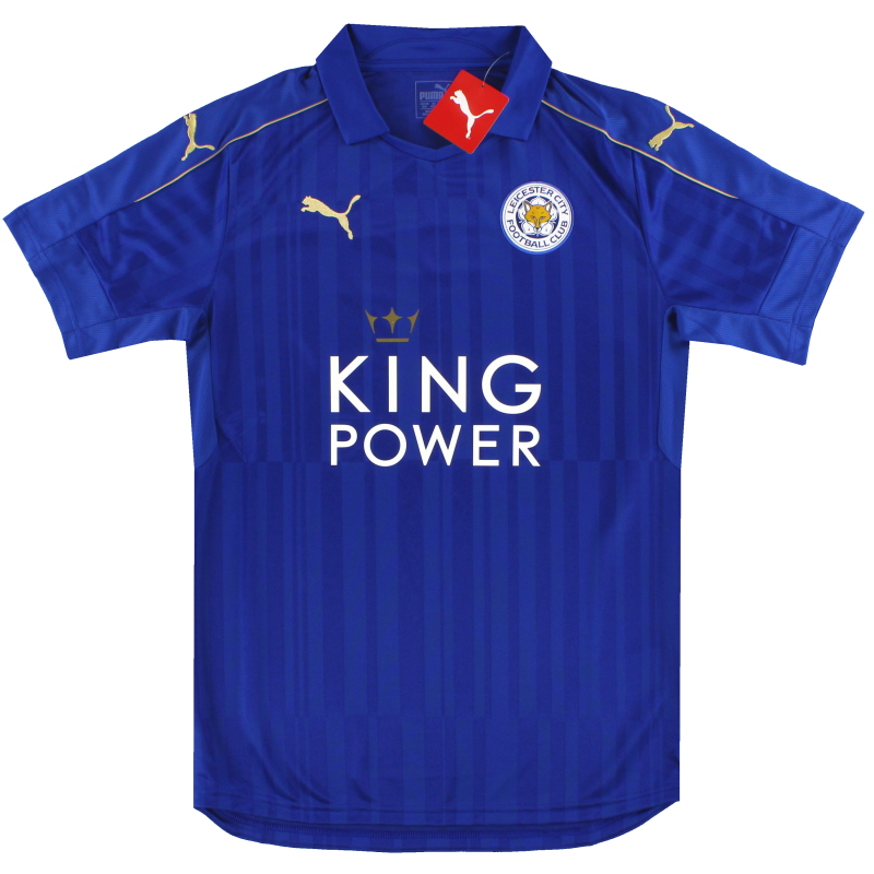 2016-17 Leicester Puma Home Shirt *BNIB*  - K1934001R