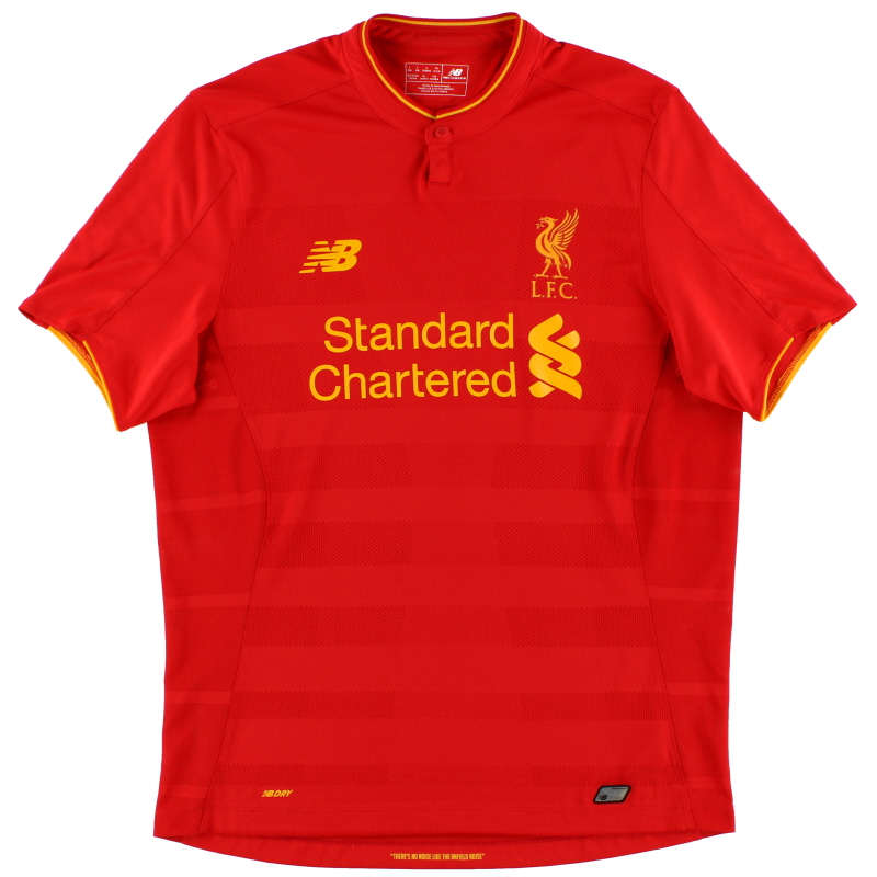 2016-17 Liverpool Home Shirt *Mint* L - MT630001
