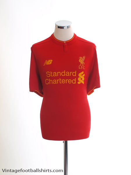 2016-17 Liverpool Home Shirt L