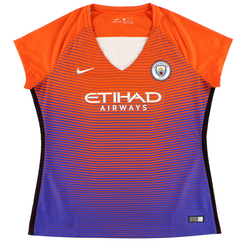 2016-17 Manchester City Third Shirt Womens *Mint* XL