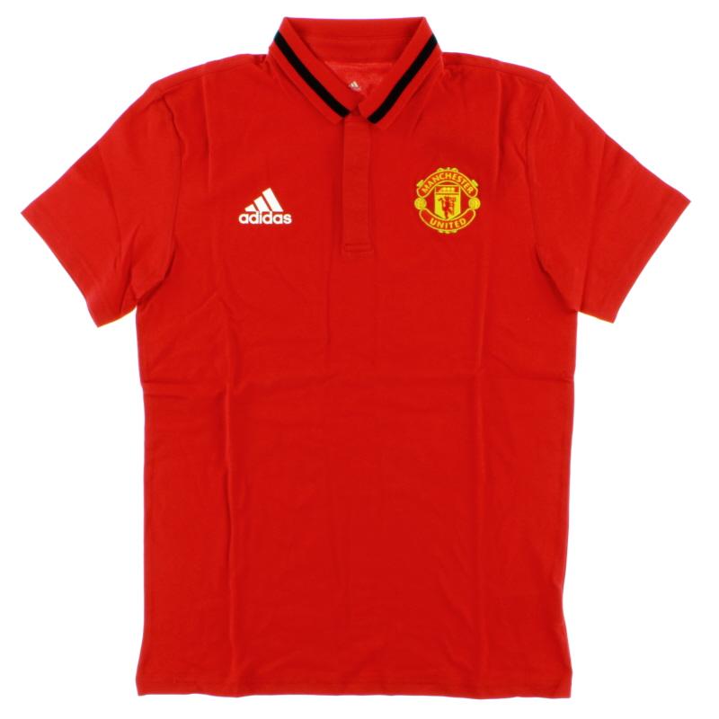 2016-17 Manchester United adidas Anthem Polo T-shirt *BNIB* - AI5404