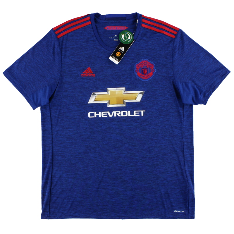 2016-17 Manchester United adidas Away Shirt *w/tags* XL - AI6704
