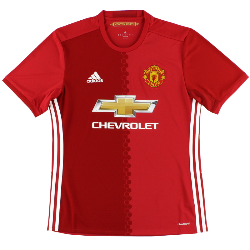 2016-17 Manchester United Home Shirt S - AI6720