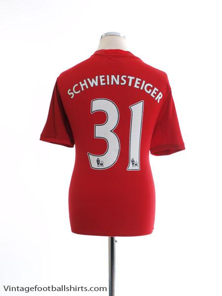 2016-17 Manchester United Home Shirt Schweinsteiger #31 S - AI4411