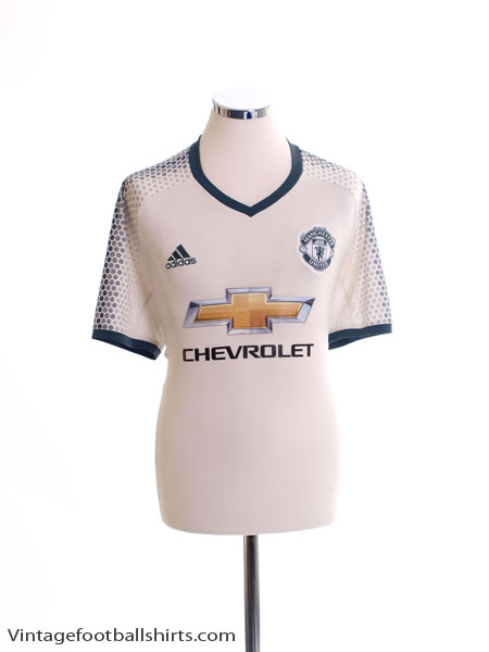2016-17 Manchester United Third Shirt L