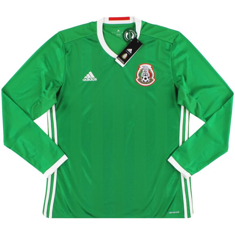 2016-17 Mexico adidas Home Shirt L/S *w/tags*  - AC2724