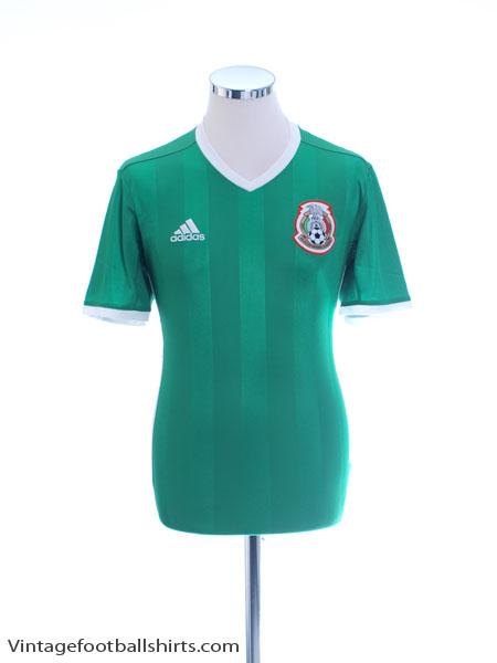 2016-17 Mexico Home Shirt *Mint* L - AC2723
