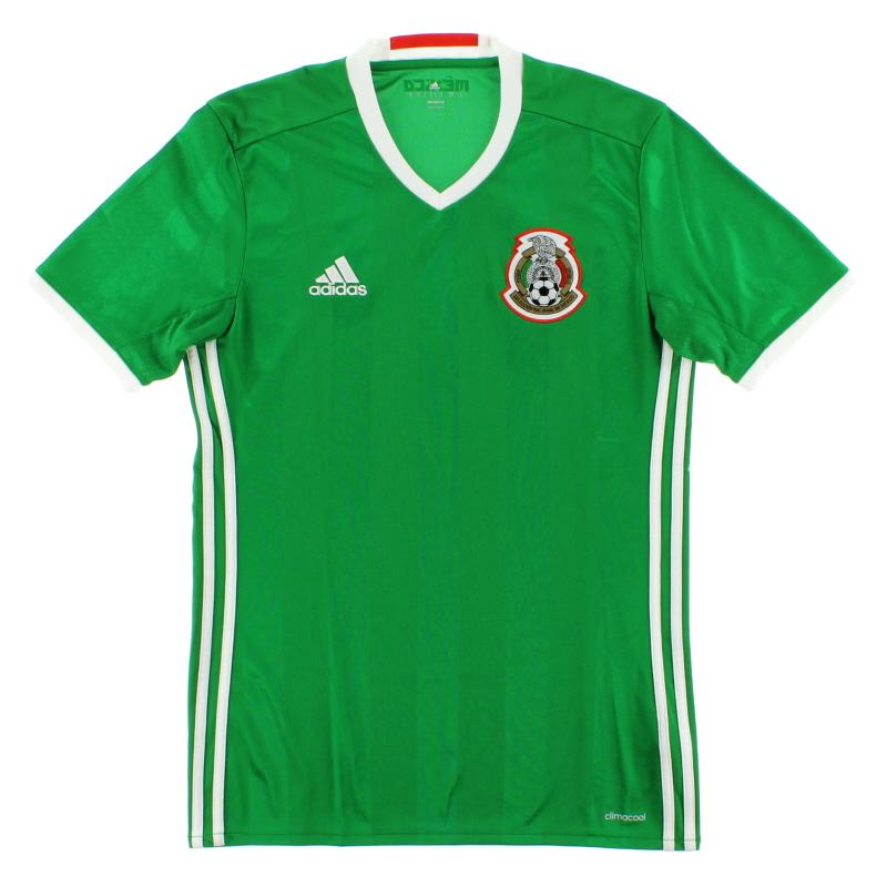 2016-17 Mexico Home Shirt S - AC2723
