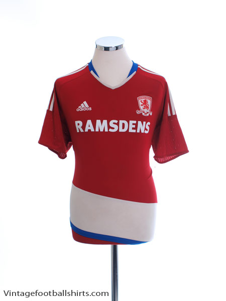 2016-17 Middlesbrough Home Shirt L - AP8474