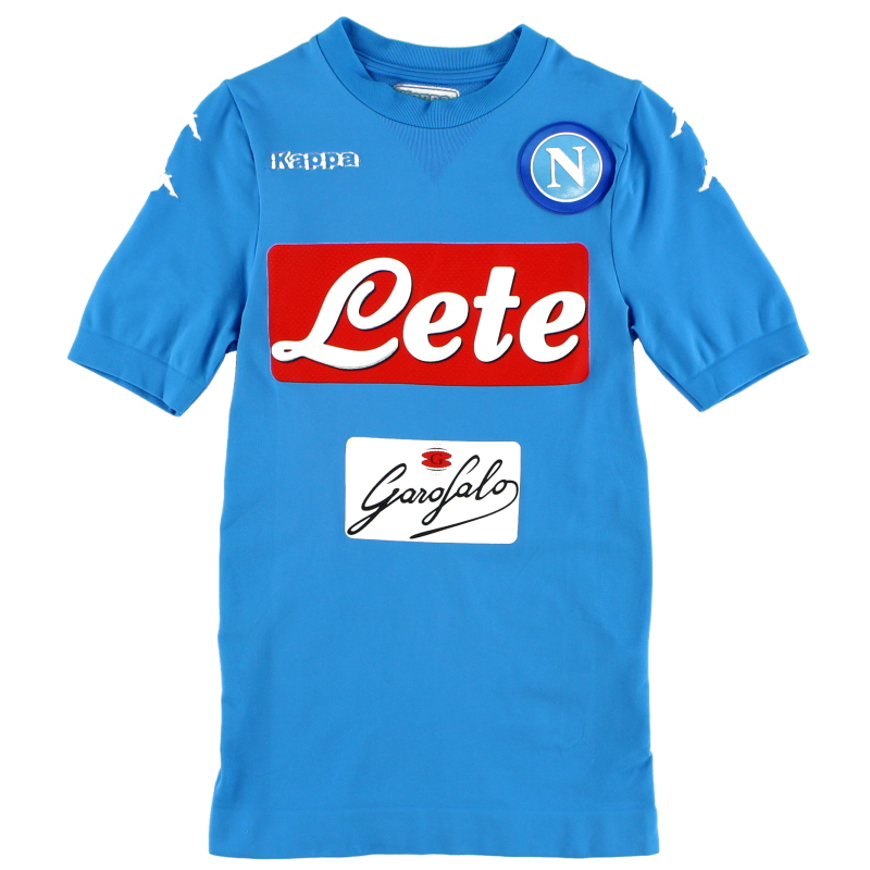 2016-17 Napoli Authentic Home Shirt M/L