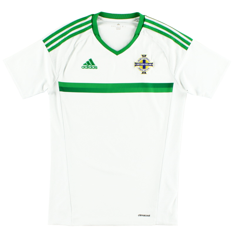 2016-17 Northern Ireland Away Shirt S - AI6625