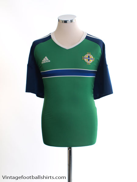 2016-17 Northern Ireland Home Shirt XL - AI6622
