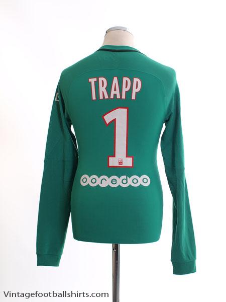 2016-17 Paris Saint-Germain Authentic GK Shirt Trapp #1 *Mint* S - 776918-320