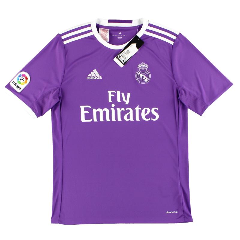 2016-17 Real Madrid adidas Away Shirt *w/tags* XL.Boys - AI5163